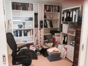 A fresh new feel to a cluttered office - Before